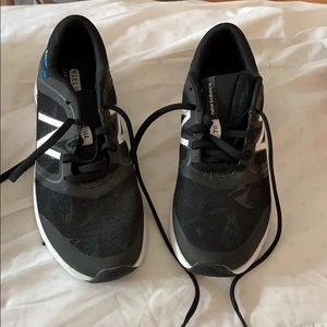 Worn once, new balance sneakers.